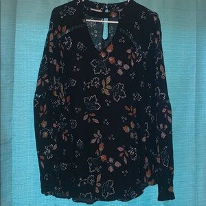 Size 3X Long Sleeve Blouse